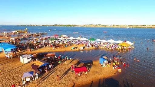 Praias do Tucunaré e do Geladinho atraem turistas para Marabá