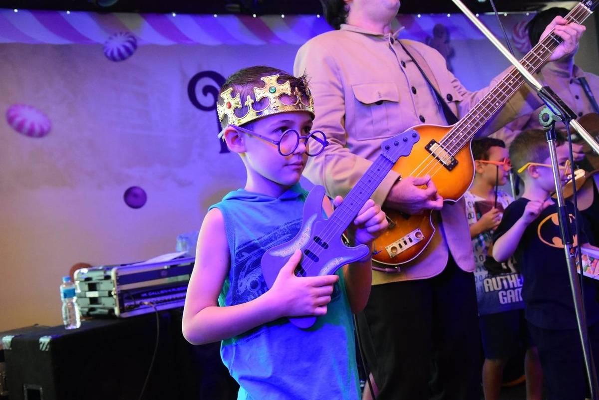 Banda Beatles for Kids faz show neste final de semana, em Belém