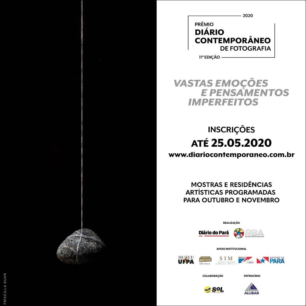 Diário Contemporâneo estende inscrições até 25 de maio