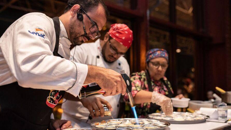 Feira Gastronômica do Bem reuni Chefs de cozinha, em Belém