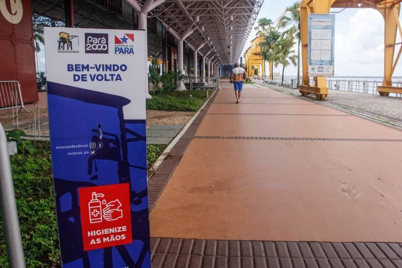 Pontos turísticos de Belém abrem durante o Carnaval 2021