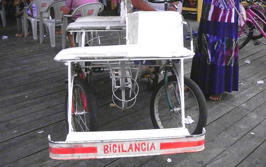 Afuá, a cidade das bicicletas.