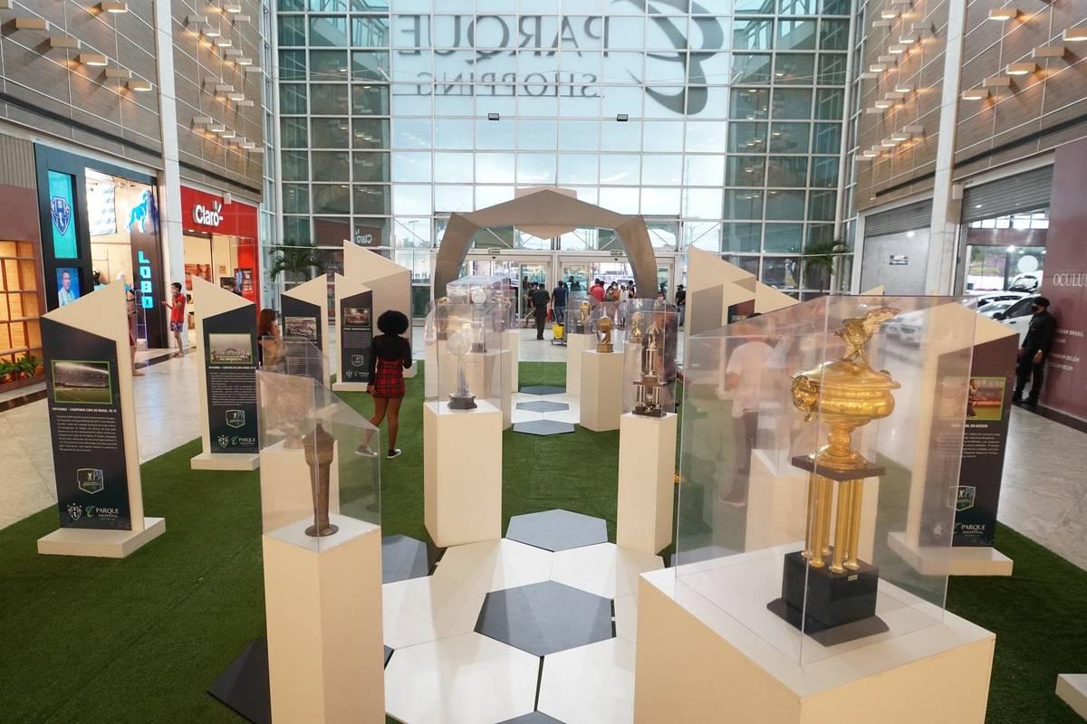 Exposição reúne em Belém as maiores conquistas de Remo e Paysandu