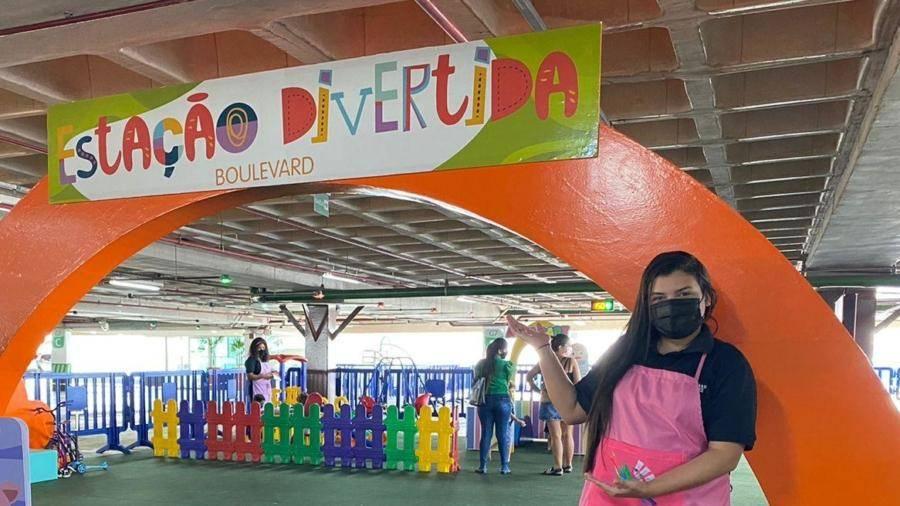 Shopping de Belém abre Estação Divertida com atividades gratuitas para crianças