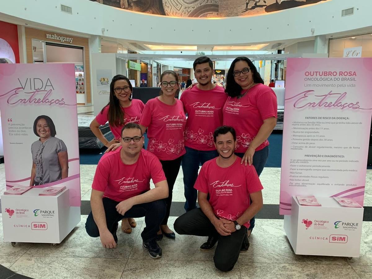 Shopping de Belém realiza ação em alusão ao Outubro Rosa